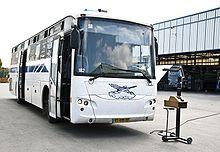 Israel Prison Service Bus