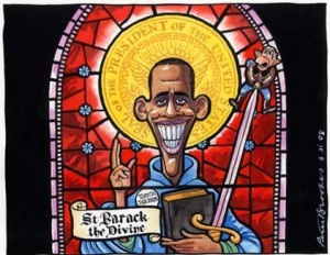 Saint Barack Obama