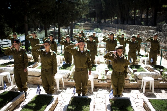Israel honors its fallen, April 14, 2013