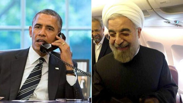 Let's Gab! Obama Chats with Rouhani