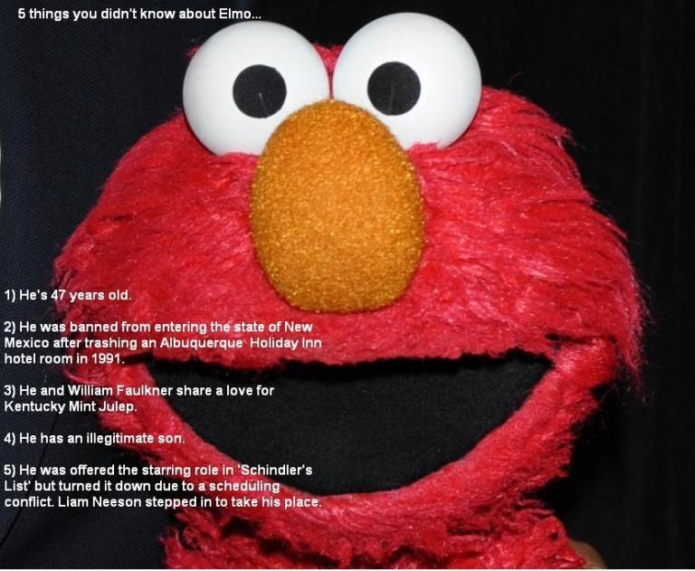 Elmo: Sesame Street's Little Red Menace