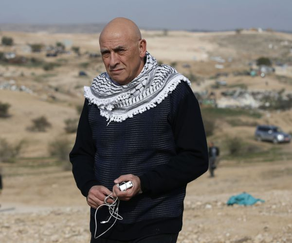 Arab-Israeli Knesset (Israeli parliament) member Basel Ghattas is seen on January 18, 2017. (Ahmad Gharabli/AFP/Getty Images)